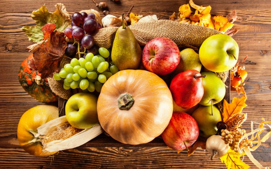 Les fruits et légumes d'automne : sources d'Oméga-3 !