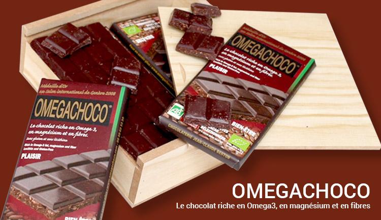 Du chocolat pour faire le plein d'oméga 3 ?